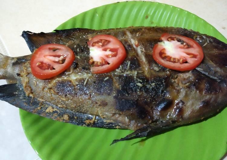 Ikan Bakar Bumbu Gula Merah