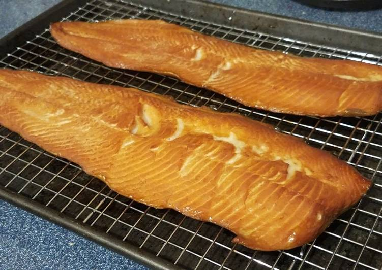 Easiest Way to Make Ultimate Salt-Cured and Smoked Lake Trout