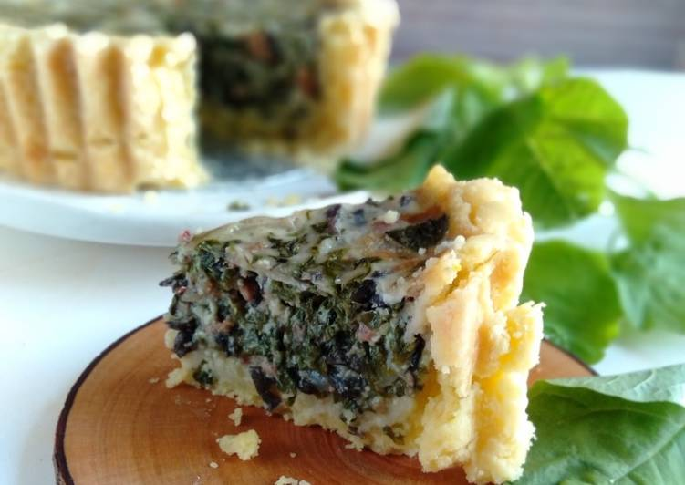 Langkah Mudah untuk Membuat 17.1~ Quiche Lorraine *gluten-free & dairy-free yang Bikin Ngiler