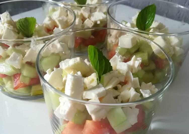 Recette De Salade en verrine 😍