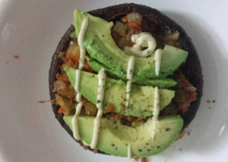 Roasted Portabello Mushroom