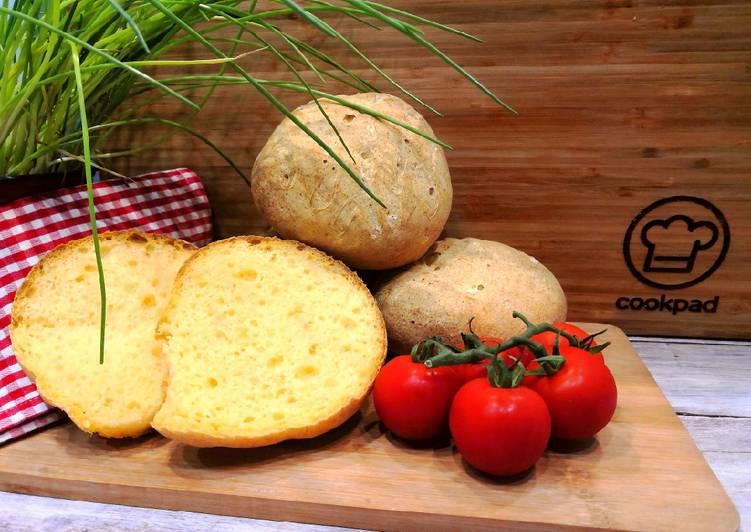Gluténmentes sütőtökös zsemle recept foto