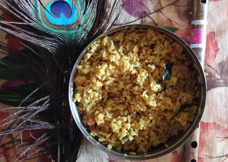 Recipe of Ultimate Tamarind rice, Pullihora!