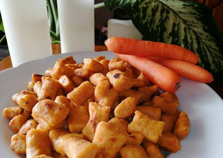 recette Gnocchis de patates douces et carottes au cumin Le plus simple