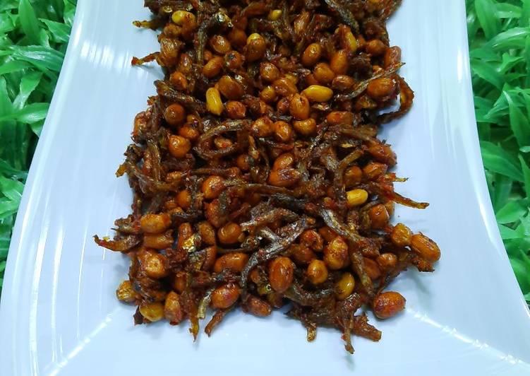 Kacang Teri Balado