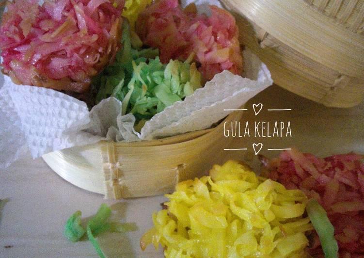 Gula Kelapa / gulampo / kembang gula kelapa
