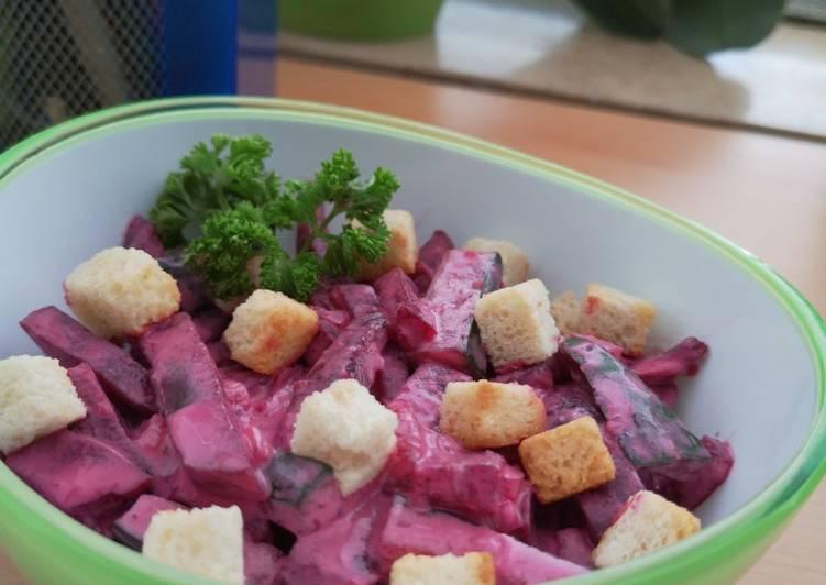 Salad bit merah mayonaise