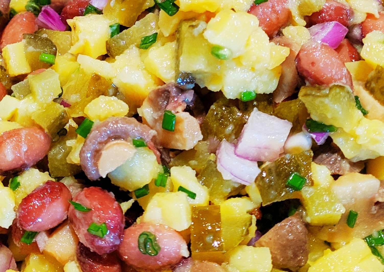 рамочки нежирные салаты рецепты с фото что первыми людьми