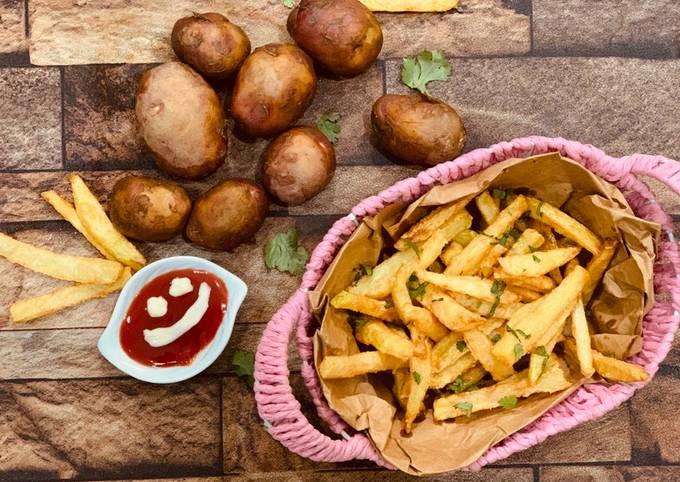 Crispy crunchy french fries