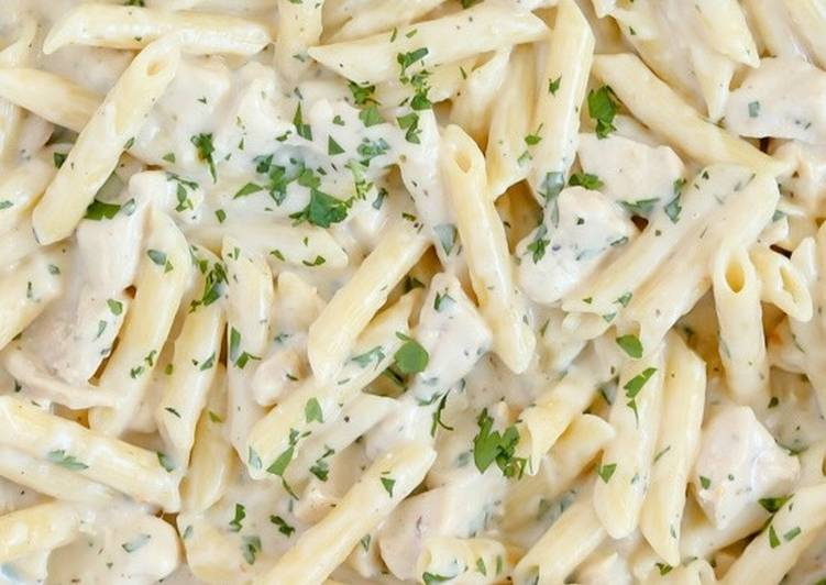 How to Prepare Delicious White sauce pasta