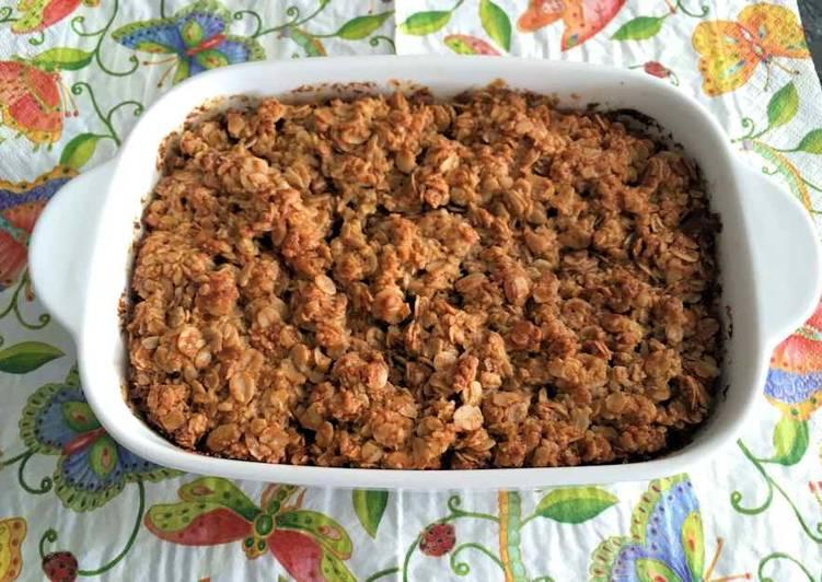 Recipe of Speedy Baked buttermilk oatmeal