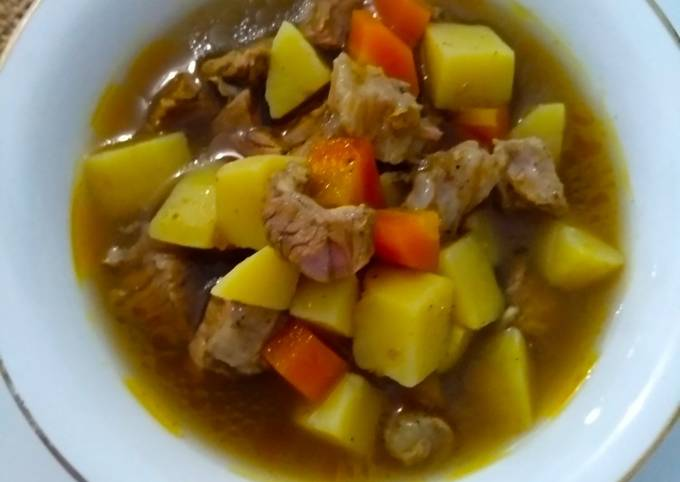 Curry/Kare daging sapi super praktis - projectfootsteps.org