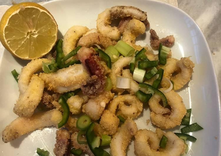 Recipe of Award-winning Salt and pepper squid