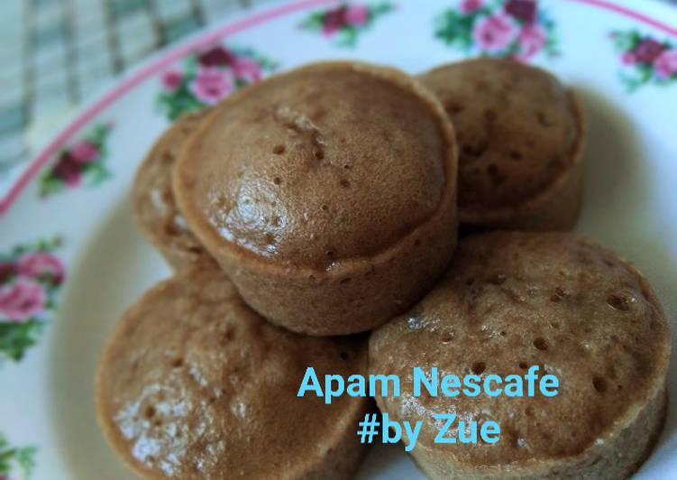 Apam Nescafe - resepipouler.com