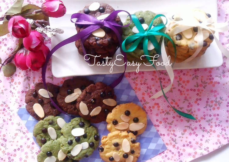 ChocoChips Cookies Teflon Less Sugar [tanpa oven]🍪🍪🍪