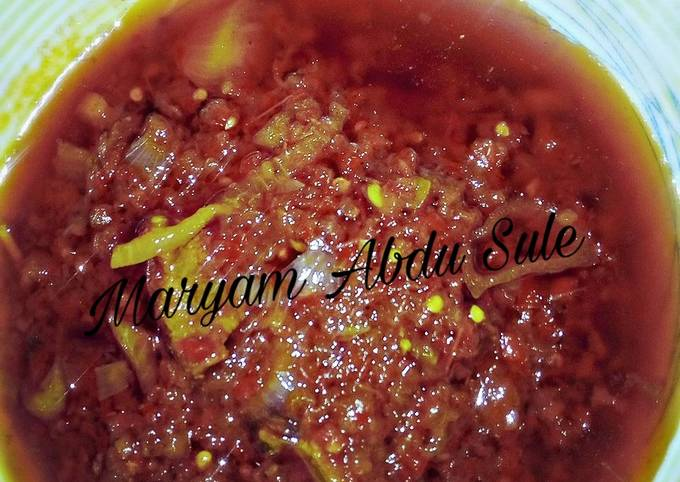 Easiest Way to Cook Tasty Easy Red Soup Recipe