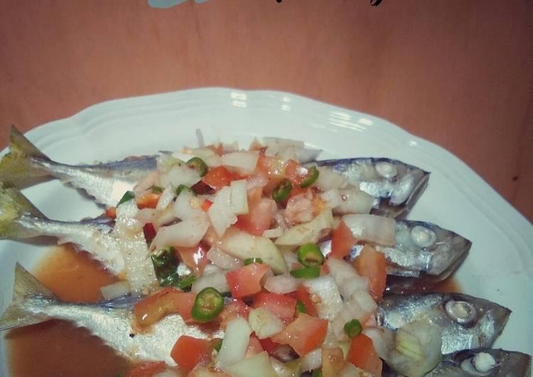 Ikan rebus air asam - resepipouler.com