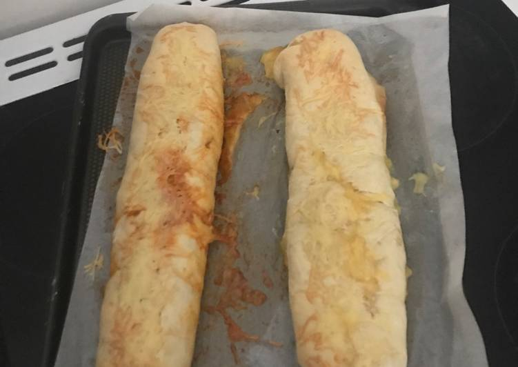 Baguette farcie chorizo
