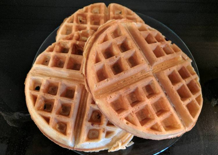 Recipe of Most Popular Dad's Lazy Waffles