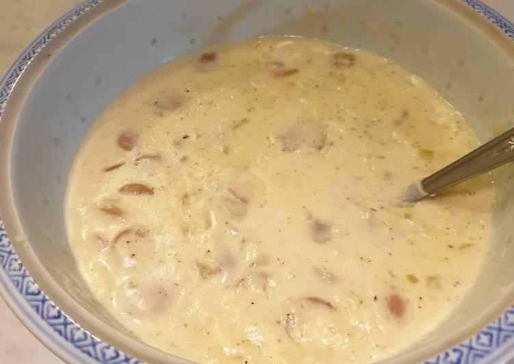Cream soup jamur