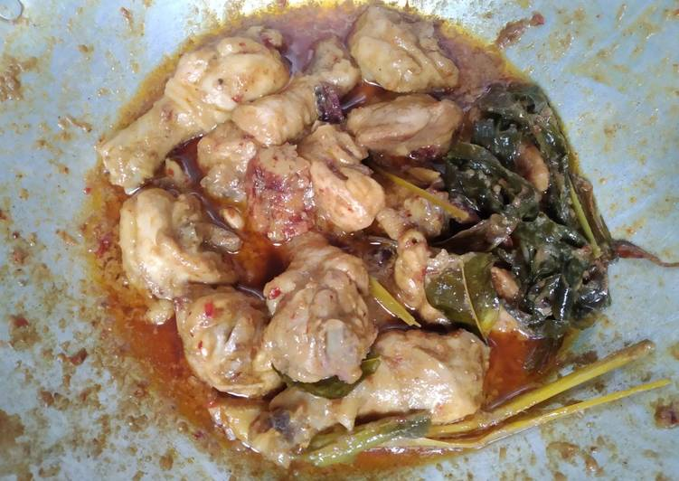 Resep Gulai Ayam, Enak Banget