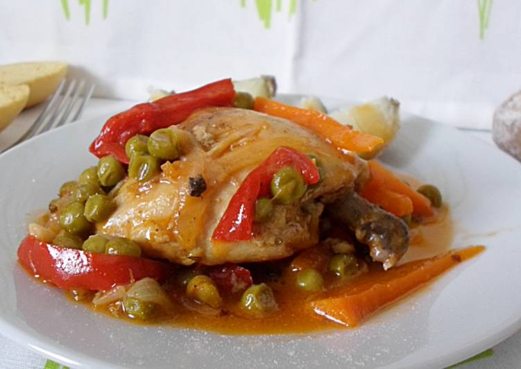 Pollo A La Jardinera Receta De Nuria Eme Cookpad