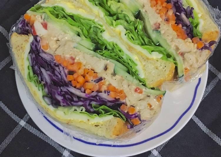 Wanpaku Sandwich mamaell: Blackpepper Mayo Chicken - velavinkabakery.com