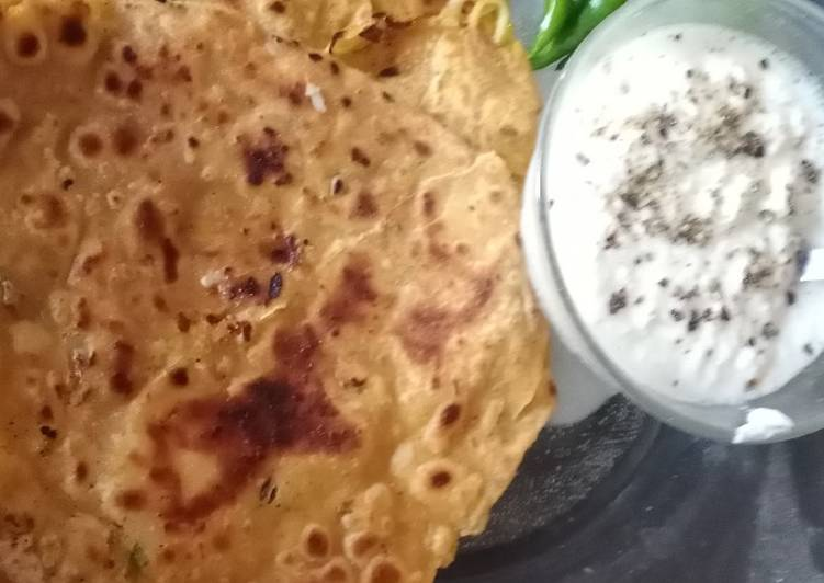 How to Prepare Perfect Cabbage stuffed paratha