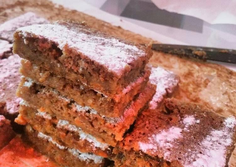Carrot Cake (makes 1 sheet)