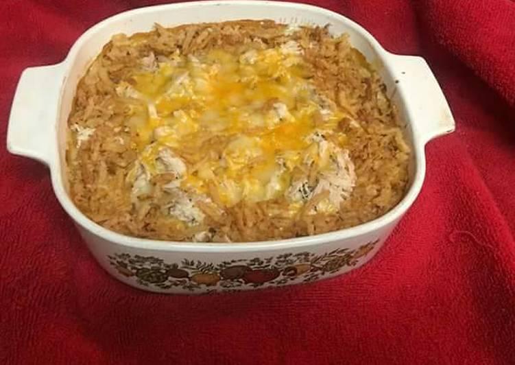 Terri's cheesy, veggie casserole