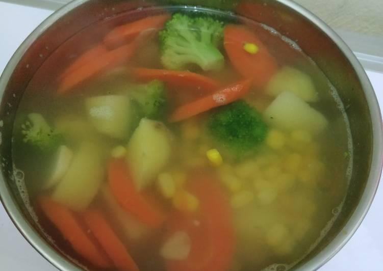 Resep Sop sayur Yang Populer Enak