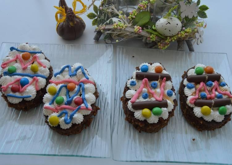 Oeuf de Pâques Brownie