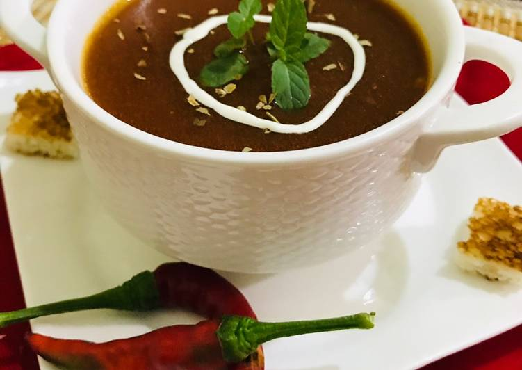Easiest Way to Make Tasty Tomato soup 🍜