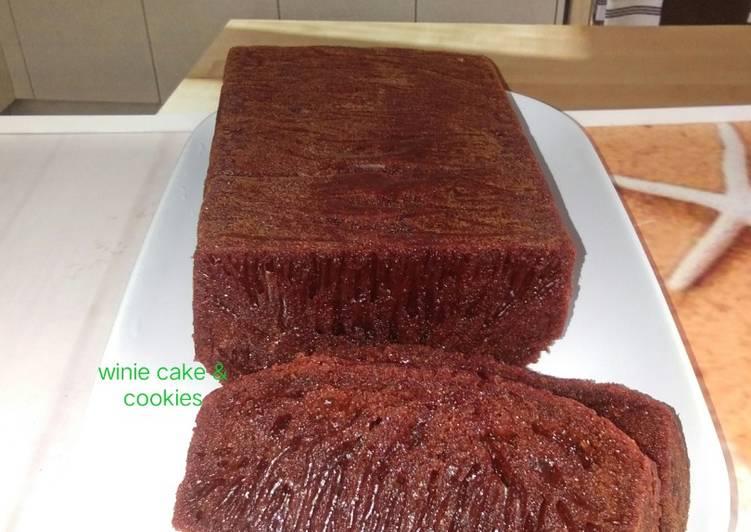 resep masak Bolu caramel/sarang semut - Sajian Dapur Bunda
