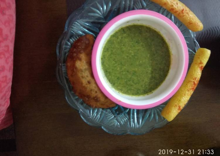 What is Dinner Easy Diet Perfect Green Chutney