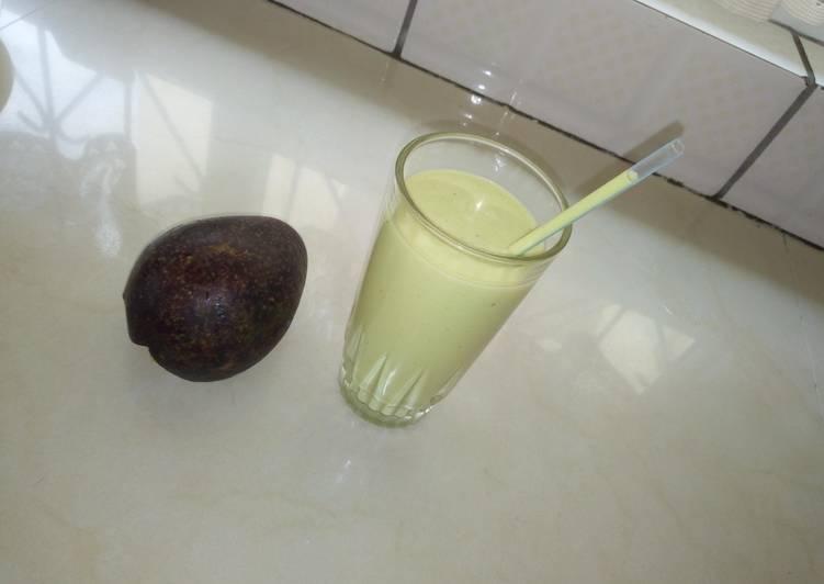 Avocado smoothie.#4weekschallenge