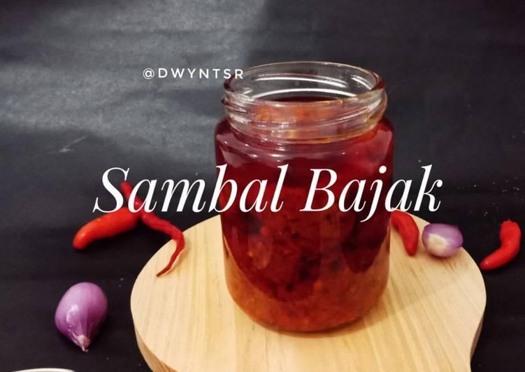Sambal Bajak (Praktis Dimasak + Cocok untuk stock)