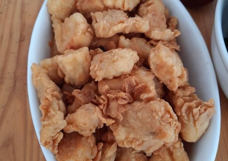 Kakap tepung crispy