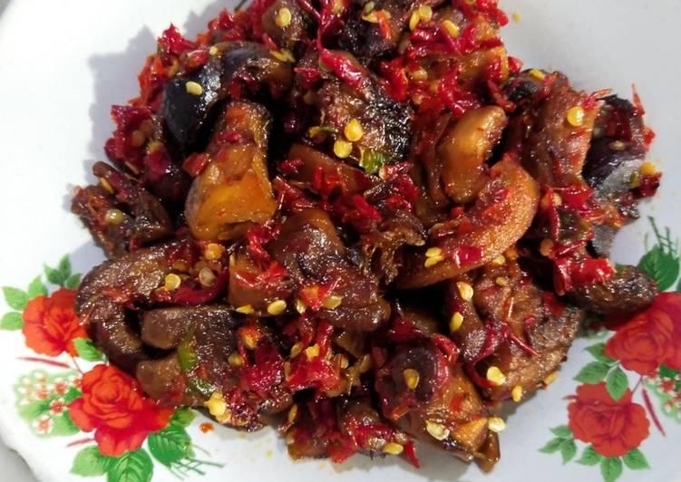 Ampla Balado Vegan (Olahan Kaki Jamur)