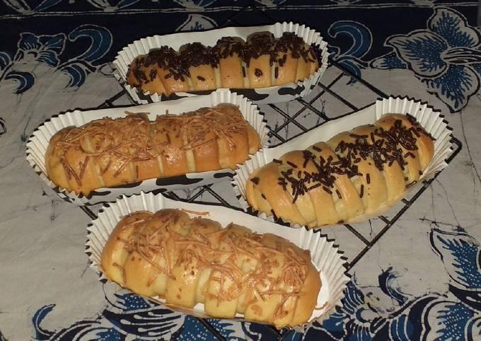#36 Roti Pisang Coklat Keju 🍫🧀