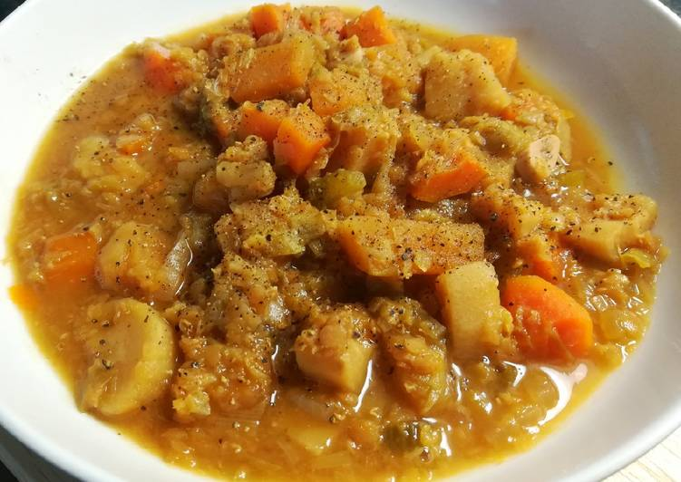 Hearty & Healthy Lentil Stew