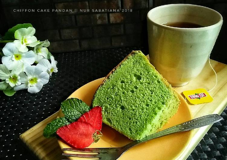 Pandan Chiffon Cake #pr_anekachiffon