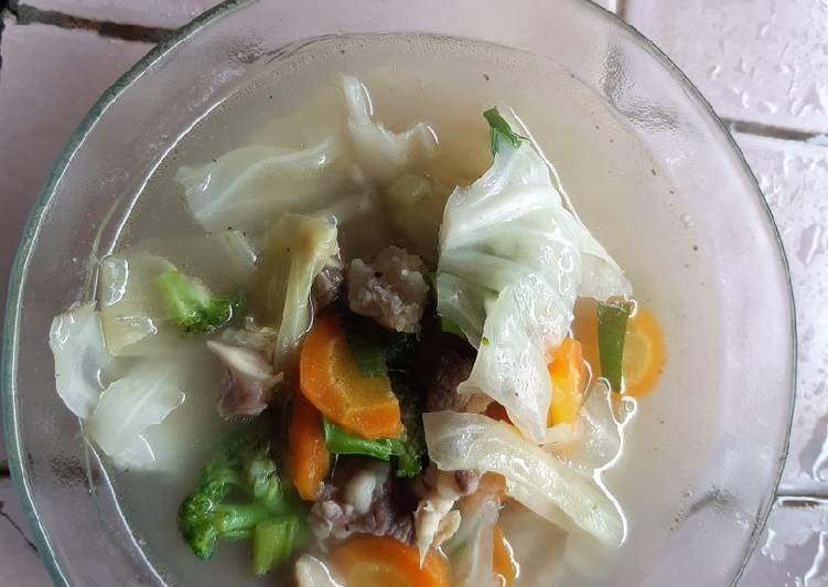 Sayur Sop Daging Sapi & Bakso