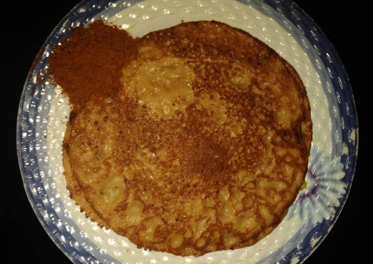 Easiest Way to Prepare Super Quick Homemade Wainar flour (local pancake)