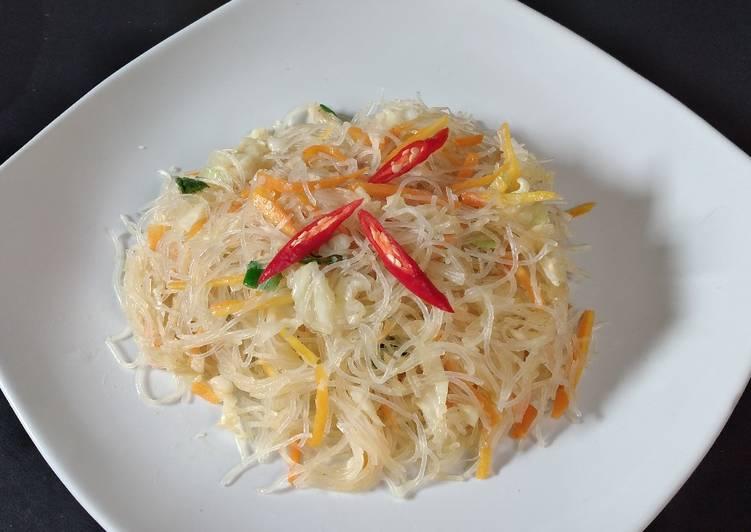 Resep Tumis bihun sayur yang super simple,,dan juga sehat dan bergizi Paling dicari