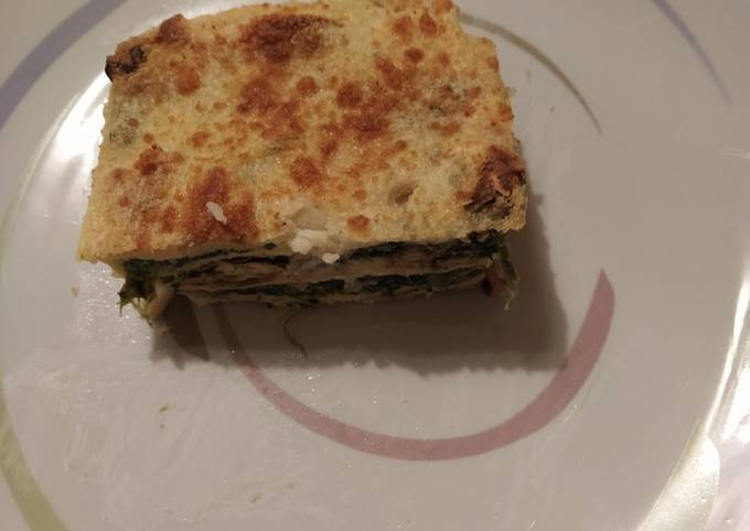 Ricetta Lasagne Toscane.Ricetta Pasta Al Forno Di Crespelle Toscane Di Gabriele Deriu Cookpad