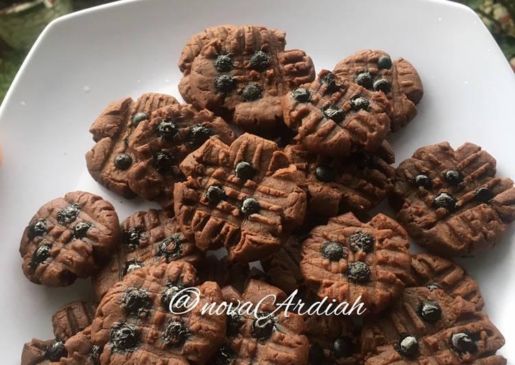 Cookies coklat (tanpa oven)