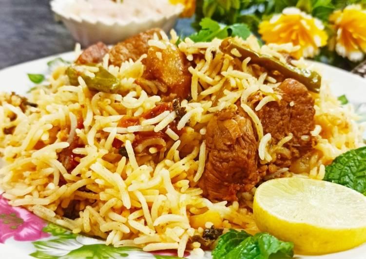 Shan sindhi biryani recipe main photo