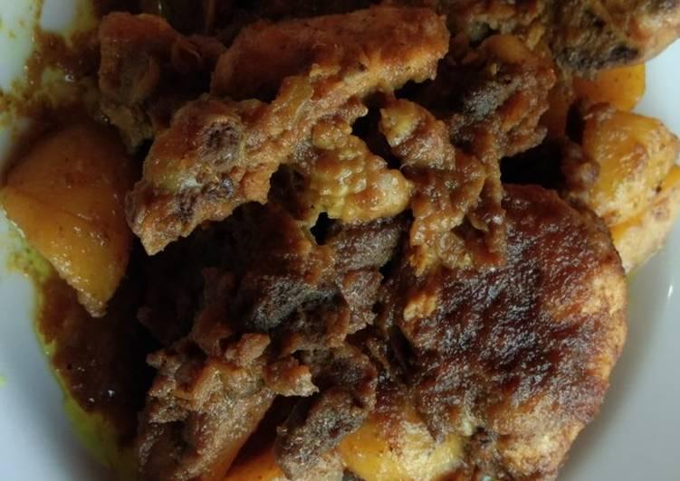 Ayam kecap bumbu racik