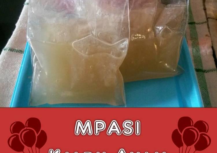 MPASI Kaldu Ayam Homemade